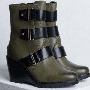 Sorel Shoes - Sorel After Hours Wedge Bootie Nori 8.5